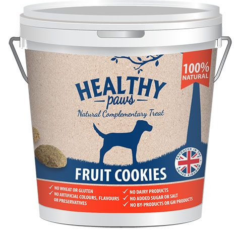 Healthy Paws Fruit Cookie Treats 500g Discontinued