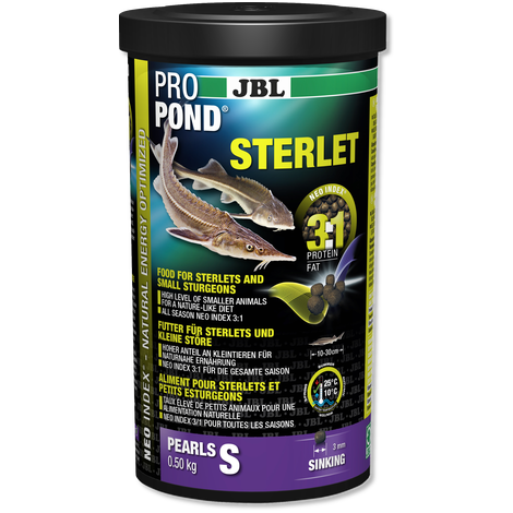 JBL Sterlet / Sturgeon Food Small Pellet