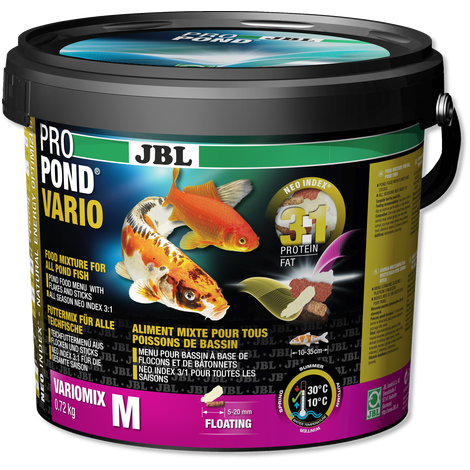 JBL Vario Flake & Stick Mix 0.72kg (5.5Litres)