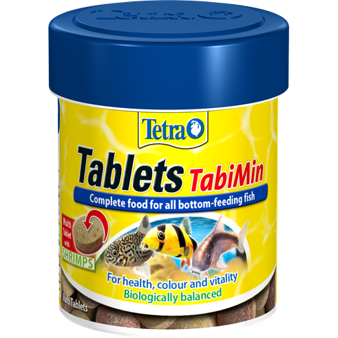 Tetra Tabimin Tablets for All Bottom Feeding Tropical Fish 275 Tabs.