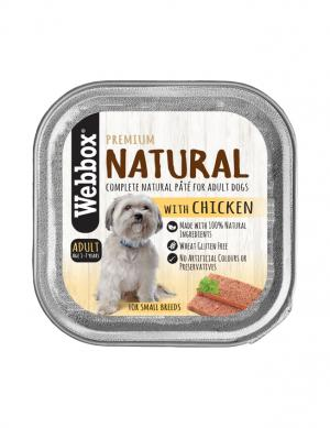 Webbox  Natural Chicken Wet Pate 150g