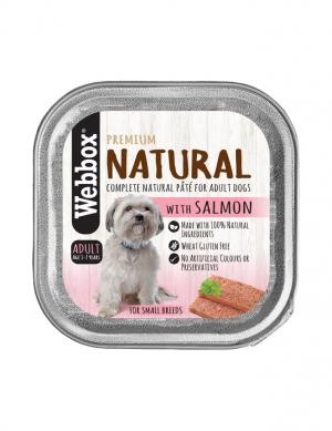 Webbox Natural Salmon Wet Pate 150g
