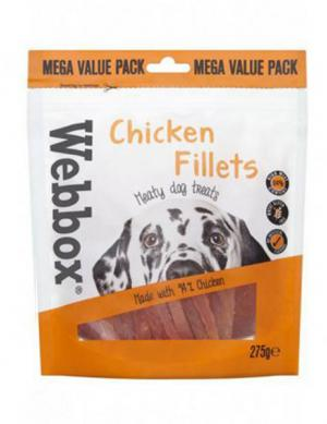 Webbox Thin Chicken Fillets 275g